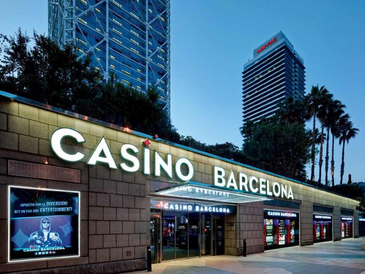 Адрес казино барселона лего онлайн играть карты