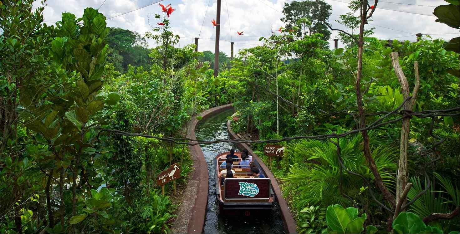 Singapore River Safari Attraction Pass l iVenture Card Singapore