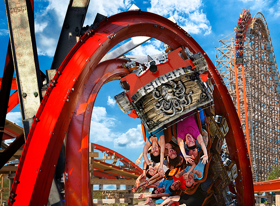 Six Flags Mexico Attraction Pass L Iventure Card Iventure City